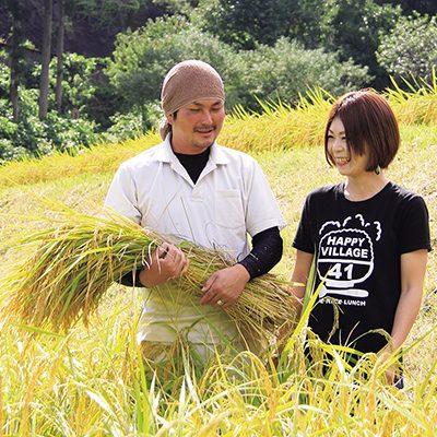 先輩就農者として幸村多加志さん・愛弓さんご夫婦のメッセージを掲載しました。